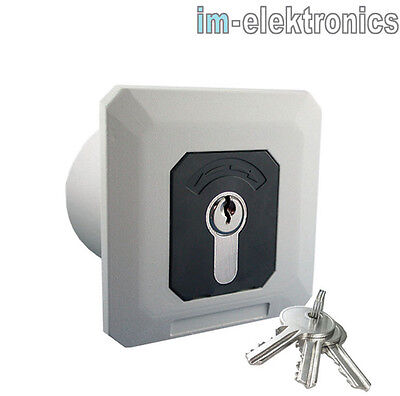 Geba Interruptor de Llave Ap o Up Puerta Enrollable Control Portones Persiana