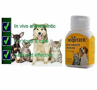 Howitzer Dose Easy Wormer Cat&Dog Worm Worming Tablets Roundworm Tapeworm