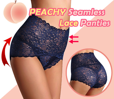 Seamless Lace Panties Women Shapers High Waist Slimming Tummy Control New