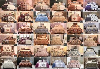 Thermal Soft Duvet Cover Pillow Case Quilt Cover Bedding Set Double King Size