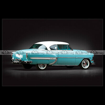 #pha.024089 Photo CHEVROLET BEL AIR SPORT COUPE 1955 Car Auto