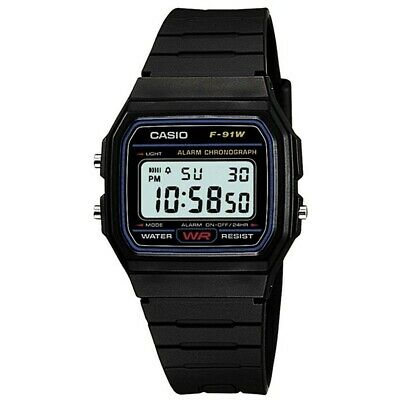 Orologio Casio Retro Vintage F-91W-1Yer  Montre Uhr Watch