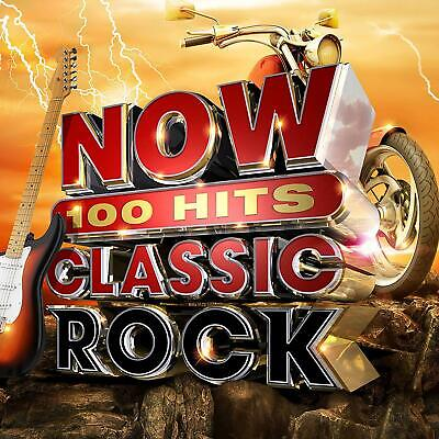 NOW 100 Hits Classic Rock VARIOUS ARTISTS 6 CD SET   NEW (7TH JUNE)
