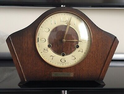 Smiths 8 Day Westminster Chime Mantle Clock