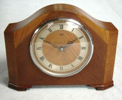 VINTAGE 1959s SMITH SECTRIC ELECTRIC CHIMING MANTLE CLOCK,WORKING CONDITION