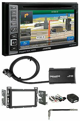 Alpine Bluetooth Receiver w/Navigation/GPS/DVD/XM For 2007-09 Saturn SKY