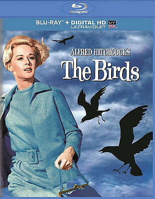 The Birds (Blu-ray + DIGITAL HD with UltraViolet) New DVD! Ships Fast!
