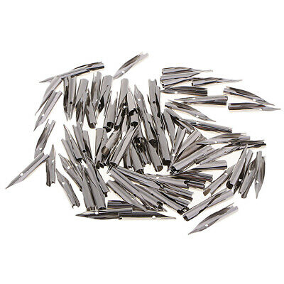 Pack of 100 Pcs Fountain Pens Nibs - Replacement Nibs - Calligraphy Pen Nibs