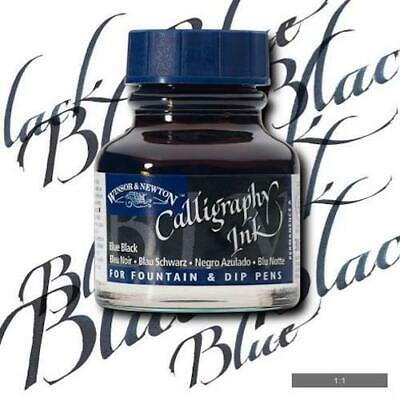 WINSOR & NEWTON CALLIGRAPHY INK 30ml - Blue Black
