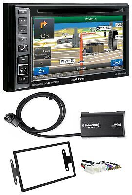 Alpine Bluetooth Receiver w/Navigation/GPS/DVD/XM For 2000-2003 Nissan Maxima