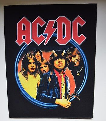 AC/DC - Highway To Hell - Backpatch - 30 cm x 36,3 cm - 164574