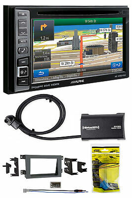 Alpine Bluetooth Receiver w/Navigation/GPS/DVD/XM For 2005-08 Honda Ridgeline