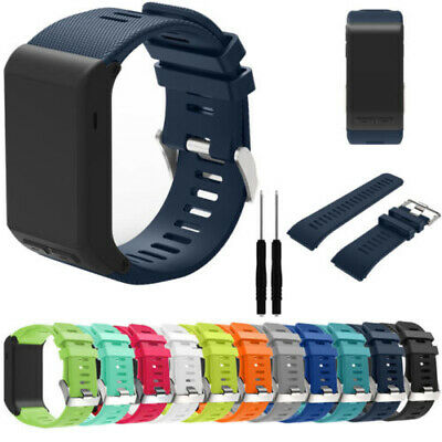 Silicone Wristwatch Bands Straps For Garmin Vivoactive HR Smart With DIY Tools