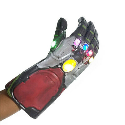 Vendicatori Endgame Infinity Gauntlet Cosplay Iron Man Tony Stark Guanti LED
