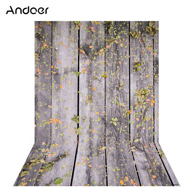 Andoer 1.5 * 2m Photography Background Backdrop Digital Printing Wood J6P2