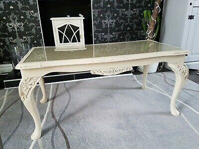 Vintage Shabby Chic coffee table French Style Coffee Table upcycled table