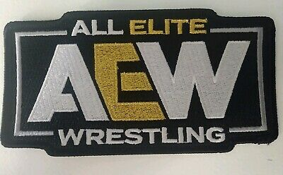 All Elite Wrestling Patch Pro Wrestling Crate AEW