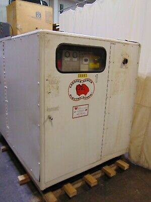 75 HP Industrial Gardner Denver Rotary Screw Air Compressor