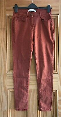 NEXT New Pink Black Grey Royal Blue Soft Touch Skinny Jeans Trousers Size 6 -18