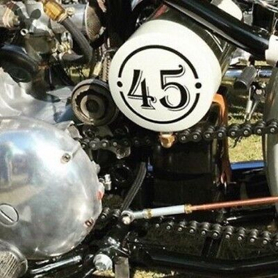bobber chopper  oil tank numbers