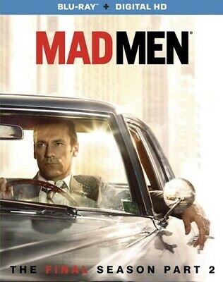 MAD MEN THE FINAL SEVENTH SEASON 7 PART 2 New Sealed Blu-ray