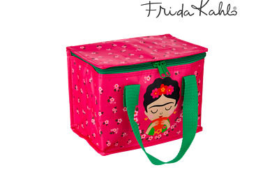 Sass & Belle Frida Kahlo Insulated Lunch Cool Snack Bag School Lunchbox Gift