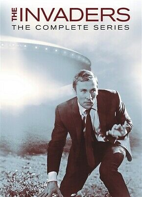 THE INVADERS COMPLETE TV SERIES New Sealed 12 DVD Set Seasons 1 + 2