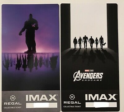 Avengers Endgame Regal Collectible Imax Ticket Week 1 & 2
