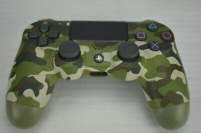 Sony Dualshock Playstation 4 Controller Gold or Green camouflage - Choose Color!