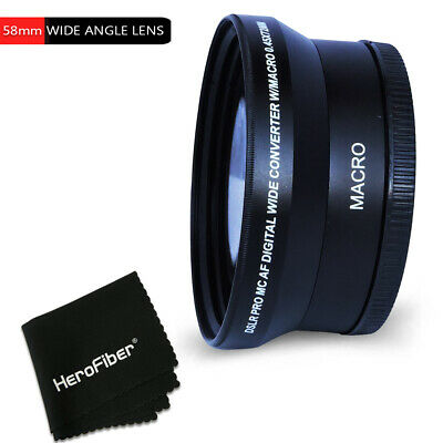 58mm Wide Angle Lens Attachment f/ Canon EF 75-300mm f/4-5.6 III USM