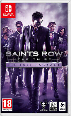Saints Row: The Third - The Full Package Switch NEW/SEALED* IN STOCK