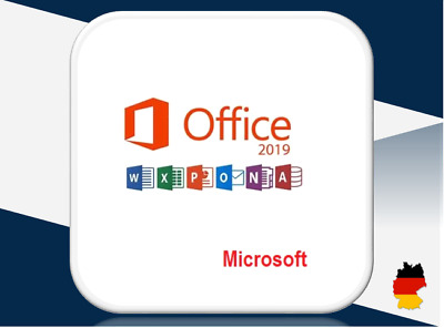 MS Office 2019 Professional Plus, Pro Plus, 32&64 Bits, Produktkey per E-Mail