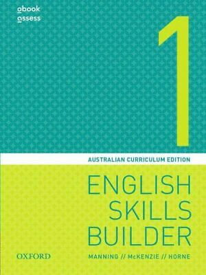 NEW English Skills Builder 1  By Mary Manning Book with Other Items