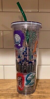 2019 Disney Parks Starbucks Cold Cup Venti 24oz Acrylic Tumble - BRAND NEW