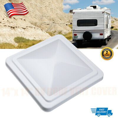 "14"" x 14"" RV Roof Vent Cover Universal Vent Lid for Camper Trailer Motorhome NEW"