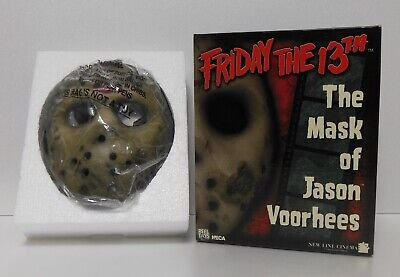 NECA Reel Toys Jason Voorhees Prop Replica Mask MIB Limited Spencer Gifts