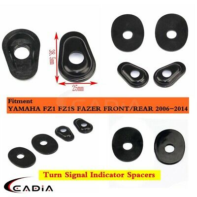 Yamaha Turn Signal Adapter Spacers for Aftermarket In Hole Stalk Type Indicators