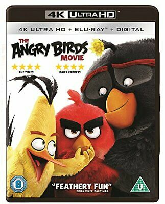 The Angry Birds Movie [4K Ultra HD] [Blu-ray] [Region Free] -  CD 4QVG The Fast