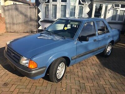 Stunning Ford Orion Mk1 Lhd French Registered Rust Free Totally Original Classic
