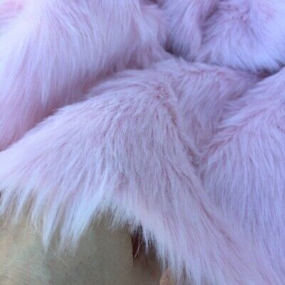 ROSEWATER - Budget Faux Fur Fabric - Handy Craft Square