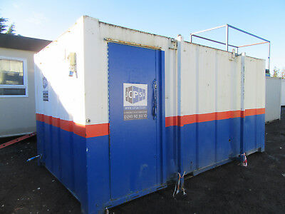 16ft x 9ft ANTI VANDAL TOILET BLOCK 2+2 SO 2 MALE & 2 FEMALE TOILETS 2000 + VAT