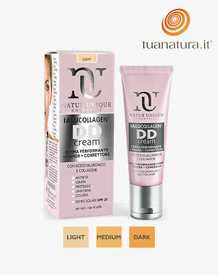 Ialucollagen DD Cream Crema Performante + Primer + Correttore Natur Unique