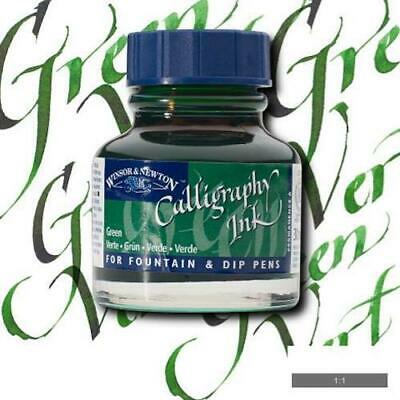 WINSOR & NEWTON CALLIGRAPHY INK 30ml - Leaf Green