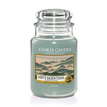 Yankee Candle Classic Candela in Giara Grande Misty Mountains 1577808E