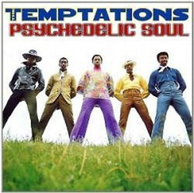 The Temptations-Psychedelic Soul CD NEW