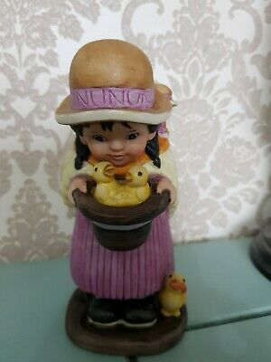 The United Nations Children Franklin Porcelain Maria From Bolivia 1980
