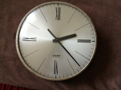 antique/vintage GENT electric wall clock