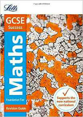 GCSE Maths Foundation Revision Guide (Letts GCSE Revision Success - New Curricul