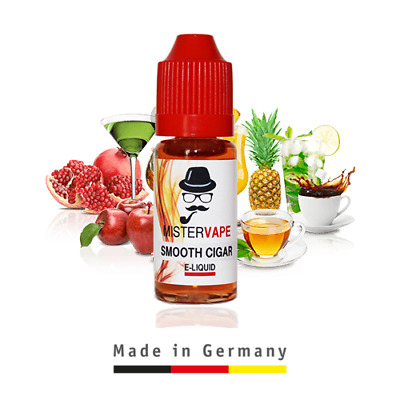 60ml E-Liquid Vape Juice | Made in Germany | 0-18mg | Many Flavors