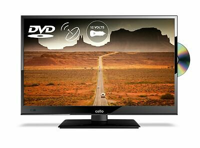 """Cello 16"""" 12v C16230F LED TV With DVD Player AC and 12V Lead"""